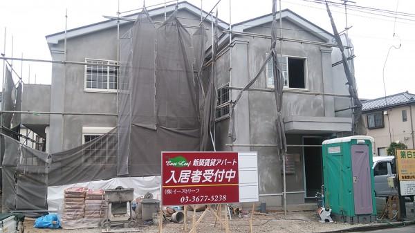 新築アパート請負工事