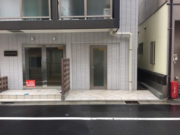 レンタルBOX 入り口