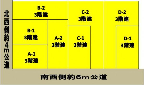 松江4丁目 区画図